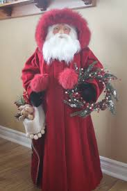 2081 best santas images on pinterest christmas figurines
