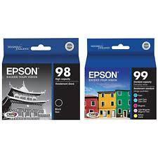 epson ink 99 light magenta genuine epson artisan 837 ink ebay