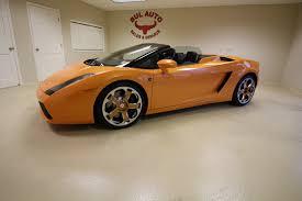 Lamborghini Gallardo Orange - 2006 lamborghini gallardo spyder super clean no paintwork stock