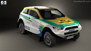 asx mitsubishi 2014 360 view of mitsubishi asx dakar racing 2014 3d model hum3d store