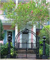 historic fences and gates in new orleans garden district