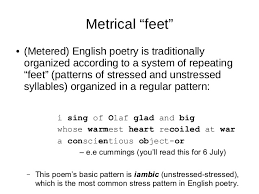 pattern poem definition lecture 02 poetics and poetry an introduction