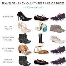 travel shoes images Travel tip the 3 pairs of shoes rule hitha on the go png