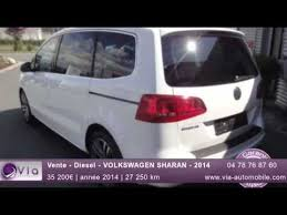 siege sharan occasion vente diesel volkswagen sharan 2014