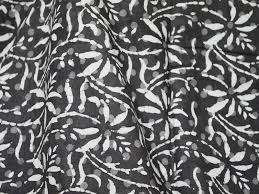 Block Print Wallpaper Block Print Fabric Cotton Dress Fabric Bohemian Fabric Crafting