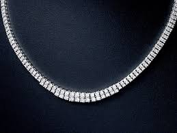 new diamond necklace images Collection shiba total tennis necklaces 10 00ct nature diamond jpg