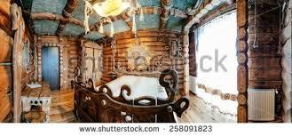 unique ethnic interior traditional national design stock photo