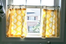 kitchen curtain designs interior white sheer cafe curtains flower patterned for beautiful