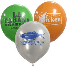 personalized balloons custom balloons for restaurants personalized with logo or message