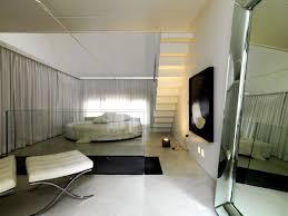 nice bedroom loft design ideas with nice white theme