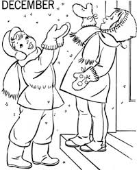 december winter coloring pages for girls winter coloring pages