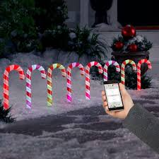 Candy Canes Lights Outdoor by Amazing Lights C Commercial Led Lights To Grand Lightshow