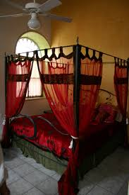 Four Post Bed F Four Poster Bed With Canopy Hand Finished Bed Inkdesign