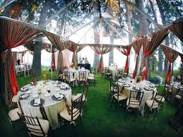 make the special backyard wedding reception atmosphere c