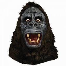Gorilla Halloween Costume King Kong Angry Gorilla Latex Mask Costume Majmwb100 Ebay