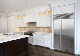 white cabinets with dark hardwood floors great home design