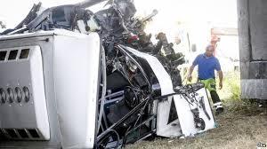 ni driver killed in belgium trip bus crash bbc news