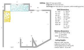 kitchen design floor planner free plans idolza