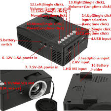 home theater tv vs projector unic uc18 hd 400lm 1080p mini led projector multimedia cinema usb
