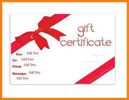 6 gift certificate word template pattern resume