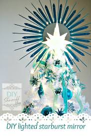 lighted tree topper 15 festive diy christmas tree toppers to dress your tree with