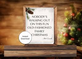 christmas sign chevy chase christmas vacation sign instant