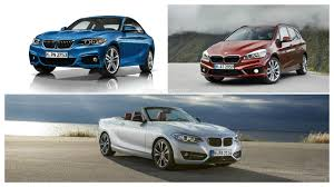 starting range of bmw cars bmw 2 series range will get engine options starting this