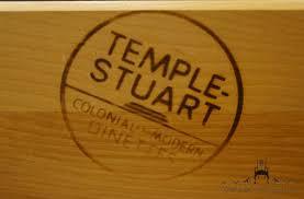 Temple Stuart Dining Room Set High End Used Furniture Temple Stuart Rockport Maple 38 U2033 Buffet