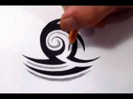 libra tattoos how to draw a simple tribal star sign youtube