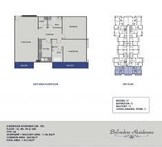Belvedere Floor Plan Belvedere International City Floor Plan 2 Bed Synergy Properties