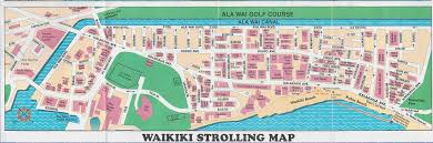 map of waikiki plan waikiki large