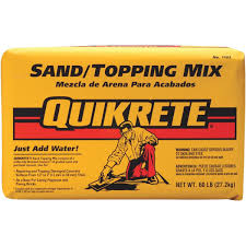 Quikrete Paver Base by Quikrete Sand Topping Mix 110360 Do It Best