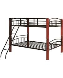 on sale now 38 off brooklyn twin metal and wood bunk bed