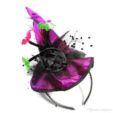 halloween witch hat christmas new year headband top festive event