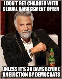 Sexual Harrassment Meme - i don t get charged with sexual harassment often unless it s 30