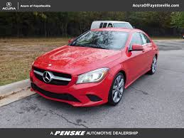 pink mercedes used mercedes benz cla at toyota of fayetteville serving nwa