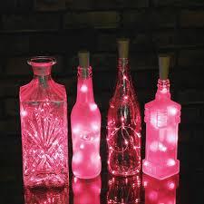 15 led copper string light wine bottle cork light for bottle diy