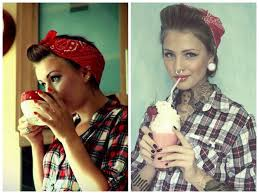 how to wear a bandana with short hair 18 cute bandana hairstyles haircuts styles 2017