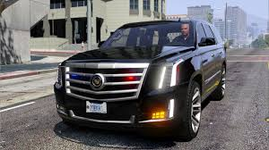 pictures of cadillac escalade cadillac escalade fbi petrol vehicle 2015 replace gta5 mods com