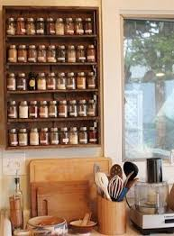 wood wall spice rack foter