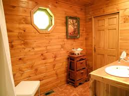Half Wood Wall by Incridible Recycled Wooden Vanity With Undermount Sink As Well As