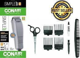 haircut trimmer set conair 10 pc hair clipper barber beard
