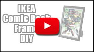 Cheapest Way To Frame Ikea Comic Book Photo Frame Hack Yoshicast