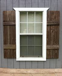 beautiful wooden exterior shutters gallery interior design ideas