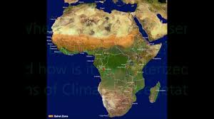 Sahel Desert Map Sahel Desertification Project Youtube