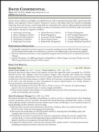 executive resume format template different resume formats different resume types