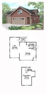 Three Car Garage With Apartment Plans Three Car With High Center Bay Garage Plan 1176 1 By Behm Design