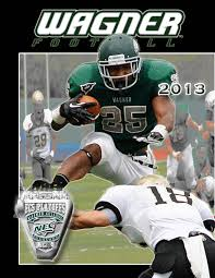 2013 wagner college football media guide by wagner college