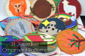 31 tree ornaments patterns do small things with
