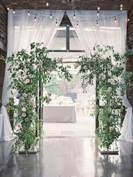 wedding arch greenery 35 inspiring garden wedding ideas happywedd